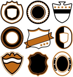 Emblem badge template vector