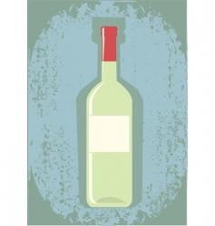 Wine grunge vector
