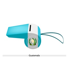 A whistle of the republic of guatemala vector