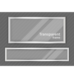 Transparent frame vector