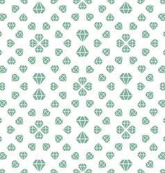 Light seamless pattern with diamonds vector
