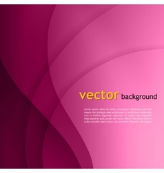 Purple smooth twist light lines background vector