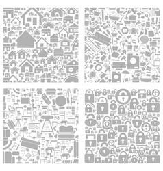 House a background2 vector