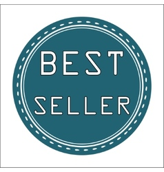Best seller icon badge label or sticke vector