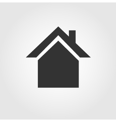 House icon flat design vector