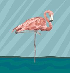 Flamingostand17 vector