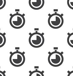 Timer seamless pattern vector