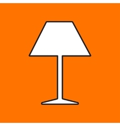 Reading-lamp icon eps10 vector