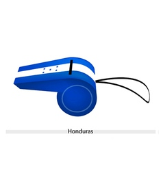 A whistle of the republic of honduras vector