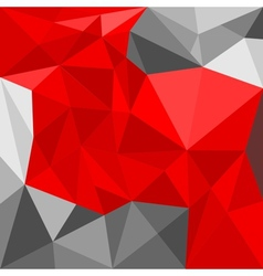Grey and red triangle seamless background vector