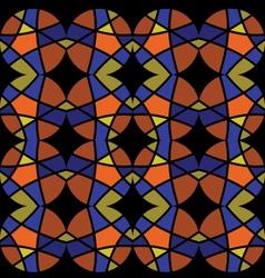 Abstract mosaic ornament2 vector
