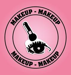Makeup kit vector