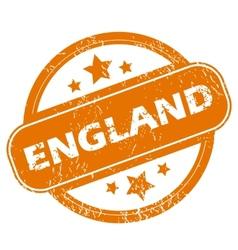 England grunge icon vector