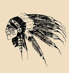Native american design elements vector