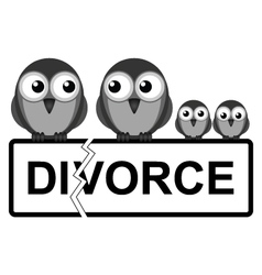 Family break up vector