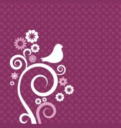 Floral graphic design vector