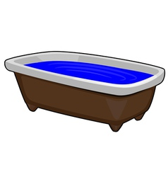 Image of bath vector