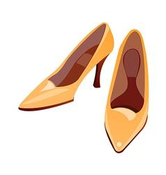 Icon high heels vector