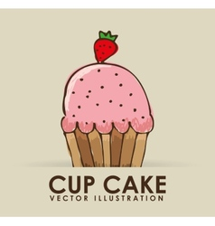 Pastry icon vector