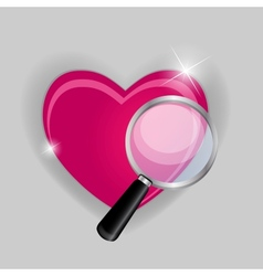 Find your love symbol vector