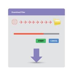 Download file vector