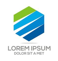Logo abstract element icon vector