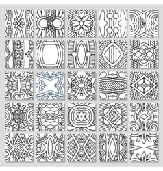25 seamless pattern collection vector