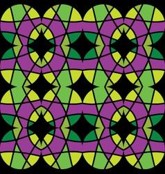 Abstract mosaic ornament vector
