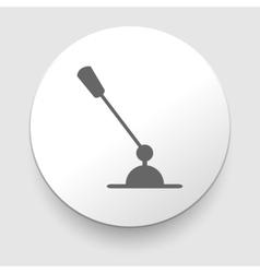 Classic microphones symbol vector