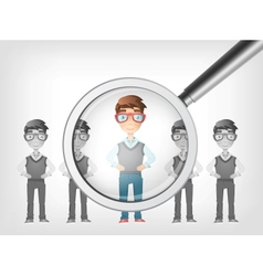 Find human vector