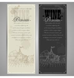 Premium restaurant menu vector