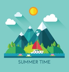 Color summer vector