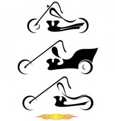 Motorcycles vector