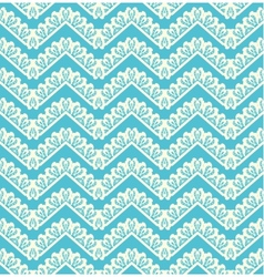 Lace seamless pattern on blue background vector