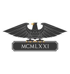Heraldic eagle 21 vector