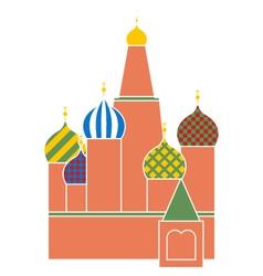 Saint basil cathedral vector