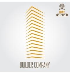 Logo sticker emblem label and logotype elements vector