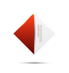 Abstract backgroundred and card vector