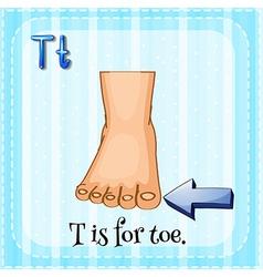 Toe nail vector