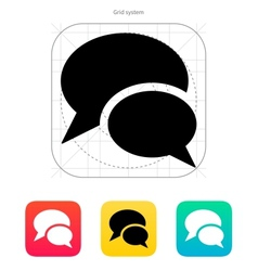 Talk icon vector