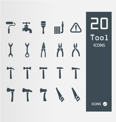 Tool icon set set of 64 quality icons vector