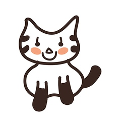 Icon cat vector
