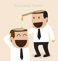 Knowledge transfer concept vector