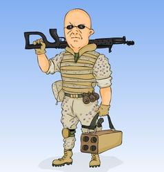 Militarist vector