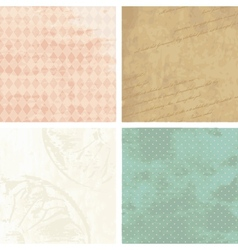 Victorian grunge backgrounds vector