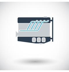 Engine icon vector