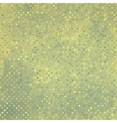 Vintage polka dots pattern vector