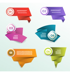 Progress background product choice or version eps vector
