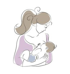 Breast feeding vector