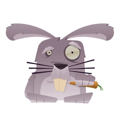 Strange rabbit vector